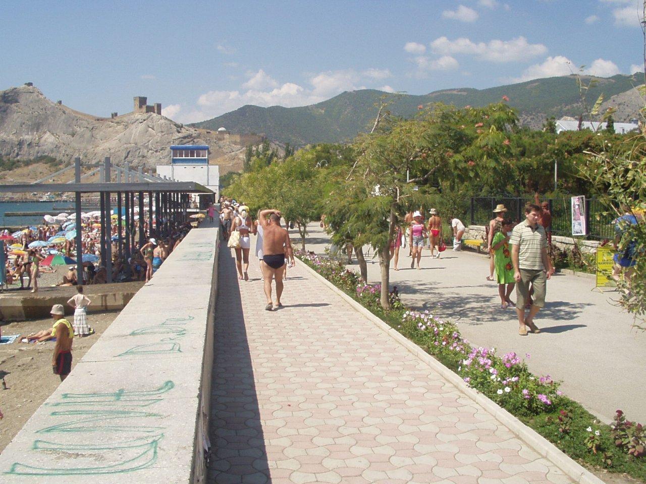 Крым судак фото города и пляжей