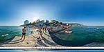 отдых в Крыму: Приморский пляж в Ялте