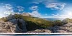 отдых в Крыму: гора Крестовая: вид на Ай-Петри и Мисхор