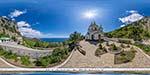 отдых в Крыму: видовая площадка у храма Архангела Михаила