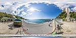 отдых в Крыму: пляж санатория Ай-Петри