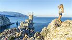 отдых в Крыму: фотосессия возле Ласточкиного гнезда