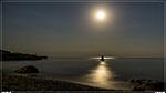 отдых в Крыму: Полнолуние в Мисхоре, пляж Русалочка