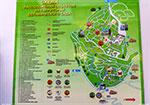 отдых в Крыму: Схема территории Никитского ботанического сада