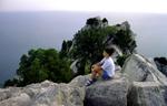 отдых в Крыму: Симеиз, скала Кошка