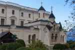 отдых в Крыму: Дворцовая Крестовоздвиженская церковь. Ливадия.