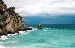 отдых в Крыму: Скала Парус