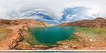 отдых в Крыму: озеро в Кадыковском карьере Балаклавы