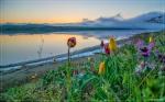 отдых в Крыму: Рассвет на Кояшском озере