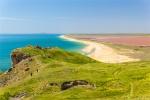 отдых в Крыму: Море и розовое озеро. Опук.