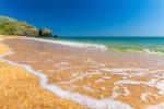 отдых в Крыму: Пляж на Опуке