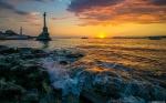 отдых в Крыму: Закат в Севастополе