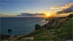 отдых в Крыму: Фиолент в лучах заката