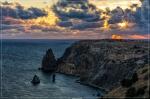 отдых в Крыму: Закат на Фиоленте!