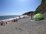отдых в Крыму: Пляж Алупка