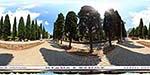 отдых в Крыму: Кипарисовая аллея и вилла Ксения в Симеизе