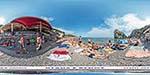 отдых в Крыму: кафе Фрегат на пляже в Симеизе