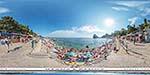 отдых в Крыму: вход на городской пляж Симеиза