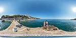 отдых в Крыму: пляж Лазурный берег в Алупке