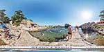 отдых в Крыму: Детский пляж в Алупке