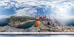 отдых в Крыму: скала Дива в Симеизе