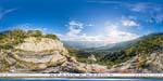 отдых в Крыму: вид на Алупку с горы Крестовая