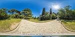 отдых в Крыму: Солнечная поляна в Воронцовском парке