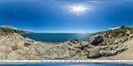 отдых в Крыму: cкала Айвазовского в Алупке