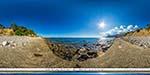 отдых в Крыму: пляж в Симеизе на ул. Баранова