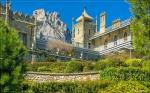 отдых в Крыму: Воронцовский дворец, южный фаса
