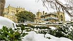 отдых в Крыму: Снежный Воронцовский дворец