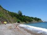 отдых в Крыму: Пляж в Алупке