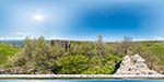 отдых в Крыму: Мангуп кале: Оборонительная стена