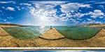 отдых в Крыму: пляж Будда Бич в Песчаном