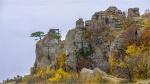 отдых в Крыму: Загадочные колонны в долине привидений