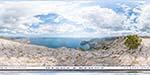 отдых в Крыму: гигапиксельная панорама: вид с горы Сокол в Судаке