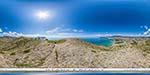 отдых в Крыму: вид на Судак с горы Алчак-Кая