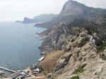 отдых в Крыму: Судак вид на Новый Свет