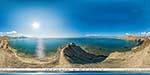 отдых в Крыму: мыс Хамелеон в Коктебеле