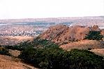 отдых в Крыму: Вид на Коктебель со стороны Карадага