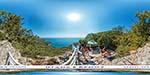 отдых в Крыму: смотровая над бухтой Ласпи