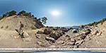 отдых в Крыму: пляж Инжир у камня