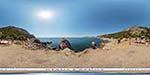 отдых в Крыму: пляж Инжир: стоянка