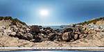 отдых в Крыму: пляж Инжир: вид с камней