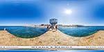 отдых в Крыму: пирс пляжа парка Победы
