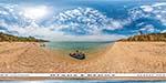 отдых в Крыму: дикий пляж Учкуевка