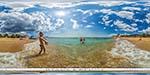 отдых в Крыму: пляж в Орловке