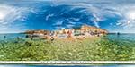 отдых в Крыму: пляж Голубая бухта