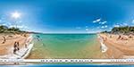 отдых в Крыму: пляж Учкуевка южная