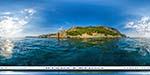 отдых в Крыму: пляж Инжир: вид с моря